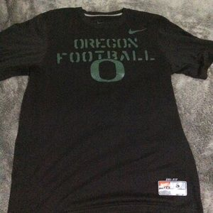 Nike Oregon football dry fit black T-shirt size sm